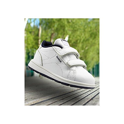 Royal Textured Unisex Navy Blanco collegiate Deporte Comp Niños no Cln white De 2v Tone Zapatillas 000 Reebok 6q4d06
