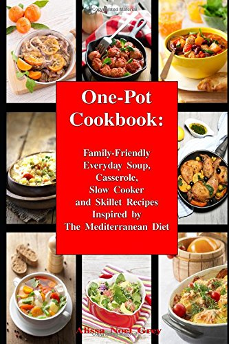One Pot Cookbook Family Friendly Casserole Mediterranean product image