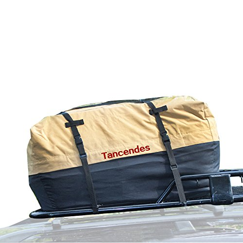 Tancendes 600D Oxford Waterproof Car Top Carrier Car Roof...