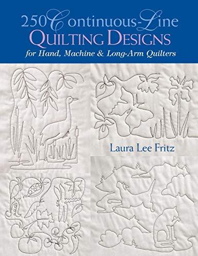 - 250 Continuous-Line Quilting Designs
