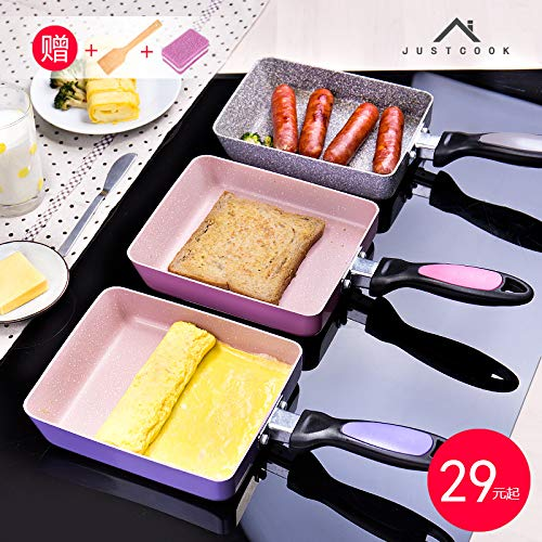 7/× 6 inch Dongguang Rongtianxia Electronic Commerce Co Black Ltd Non-Stick Omelette Pan RTX-033 Japanese Rolled Omelet Pan Tamagoyaki Egg Pan