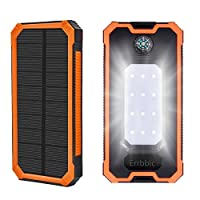 Solar Power Bank 10000mAh Solar Charger ...