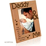 Kate Posh - Daddy & Me - I may outgrow your lap, but I will never outgrow your heart - Picture Frame (4x6 - Vertical)