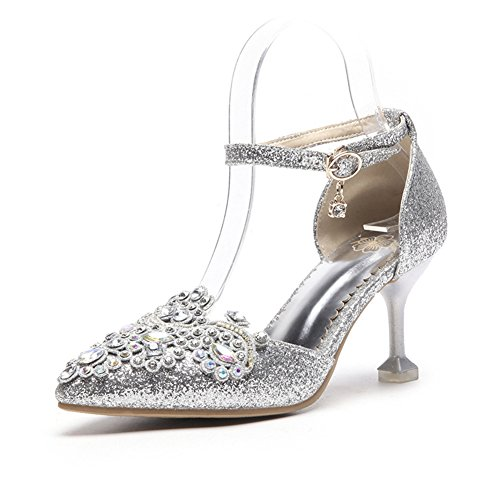de o Oto Zapatos PU Tac Primavera Verano 2018 Mujer Artificial fZd8q