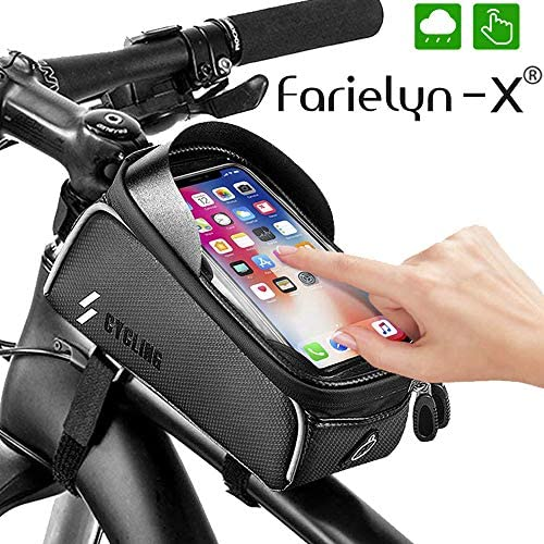 Farielyn X Bag Waterproof Bicycle Capacity Cellphone product image