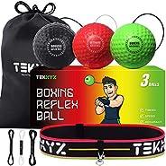 TEKXYZ Boxing Reflex Ball Challenger BRG - 3 Difficulty Levels