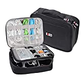 Electronic Cord Organizer Travel Cable Tablet Office Bag Gadget Gear Storage Padded Packing Cube