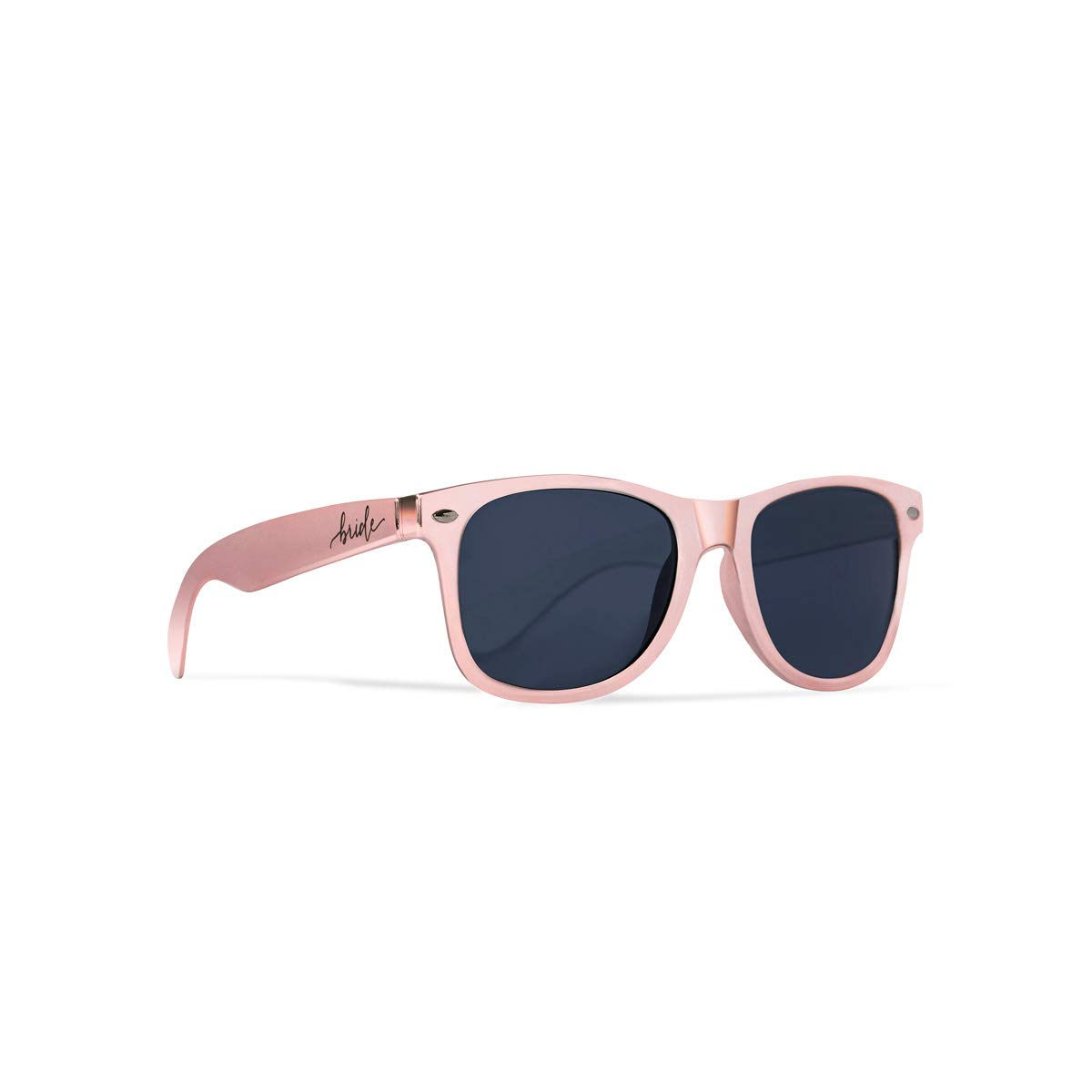 Bride Tribe + Bride Sunglasses - Gifts, Favors, Accessories for Bachelorette Parties, Weddings, and Bridal Showers (11 Piece Set, Rose Gold - Bride Tribe)