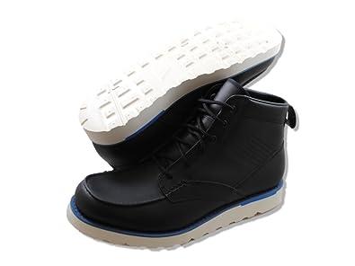 online store fc350 fd948 Amazon.com   Nike Kingman Leather ACG Mens Boots 525387-044 Black 9.5 M US    Shoes