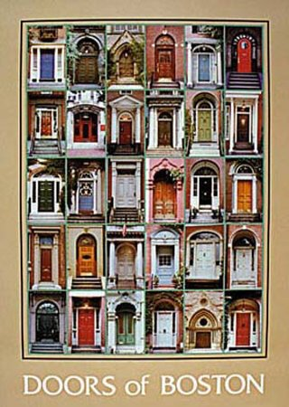 Doors of Boston Art Poster Print by Charles Huebner 22x30 & Amazon.com: Doors of Boston Art Poster Print by Charles Huebner ... pezcame.com
