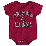 "NFL Arizona Cardinals Newborn & Infant ""City Wide"" Short Sleeve Bodysuit Cardinal, 0-3 Months"