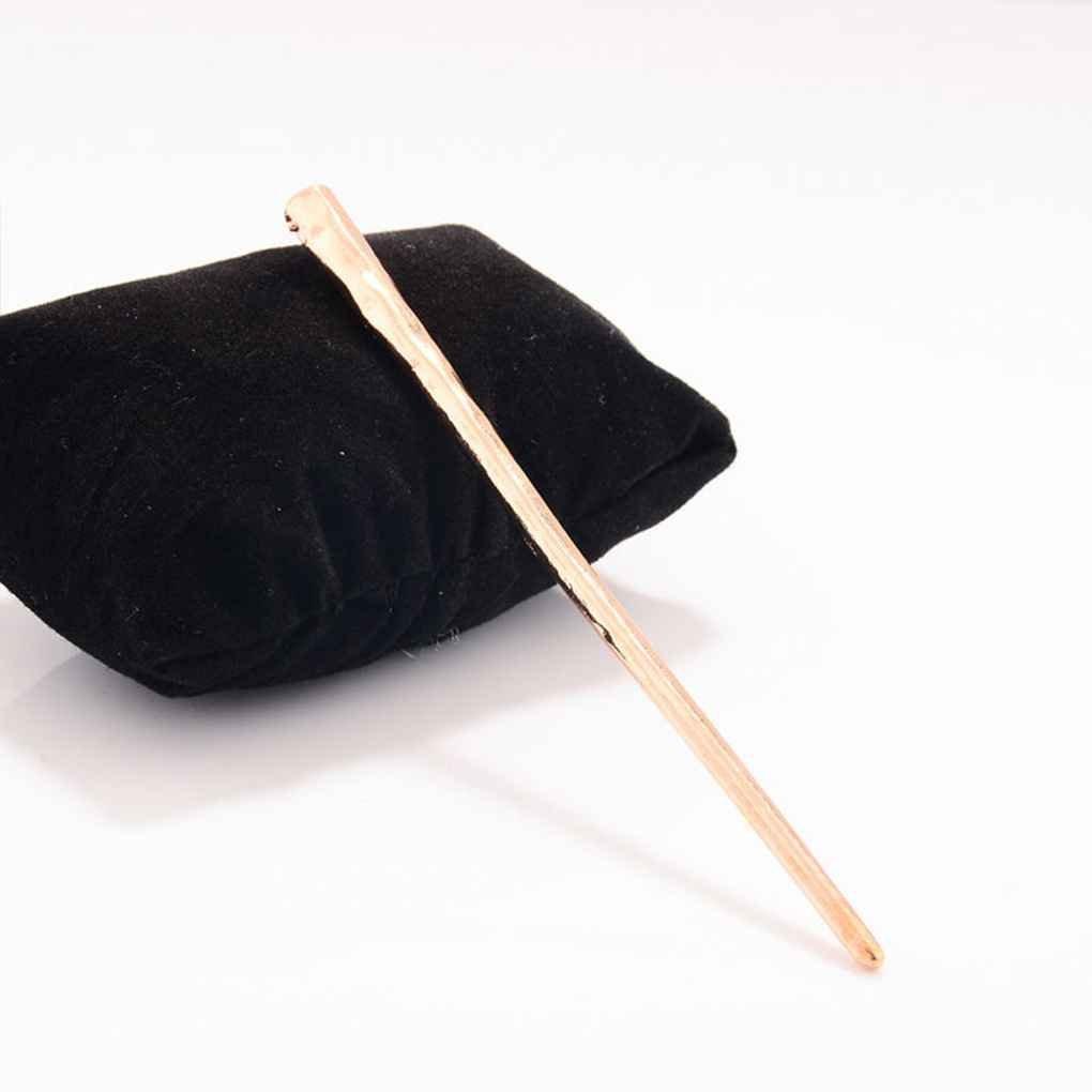 Bobury Women Hair Stick Hair Chopsticks Hairpin Pin Girls Hair Accessories Metal Hairpin