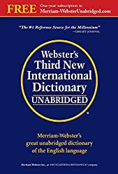 Image of the product Websters Third New that is listed on the catalogue brand of Merriam-Webster, Inc.