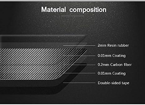 BizTech ® Juego de 2 tiras de espejo retrovisor antiroturas de fibra de carbono reales para BMW: Amazon.es: Coche y moto