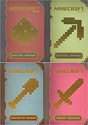 MinecraftTM Handbook Pack (4 Ct.) : MinecraftTM: Essential Handbook, MinecraftTM Construction Handbook, MinecraftTM: Combat Handbook, MinecraftTM Redstone Handbook