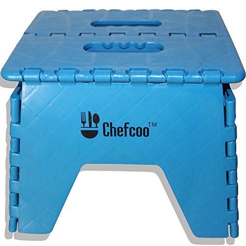 Wondrous Chefcoo Folding Step Stool Strong And Stable For Adults Creativecarmelina Interior Chair Design Creativecarmelinacom