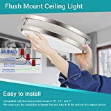 Drosbey 36W LED Ceiling Light Fixture, 13in Flush