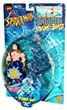 Toy Biz Year 1998 Spider-Man Web Splashed Hydro-Blast Series 5 Inch Tall Action Figure with Vehicle Set - AQUA TECH NAMOR with Pump-Up Water Shell Wave Blaster by Marvel Comics