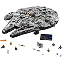 7541 Piece LEGO Star Wars Millennium Falcon Building Kit
