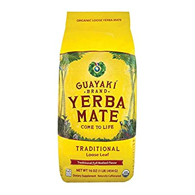 Guayaki, Yerba Mate, Loose Leaf Tea, 16 oz (454 g)