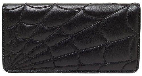 sourpuss-spiderweb-wallet-black