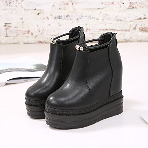 Waterproof Slope Short High Higher five Shoes Tube With In Platform Heel Thirty Shoes Taiwan 12Cm Shoes KPHY Platform xXwUnqHg0