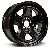 08 charger rims - Aftermarket Steel Rim 18X7.5, 5X115, 71.6, +20, black finish (MULTI APPLICATION FITMENT) X48550