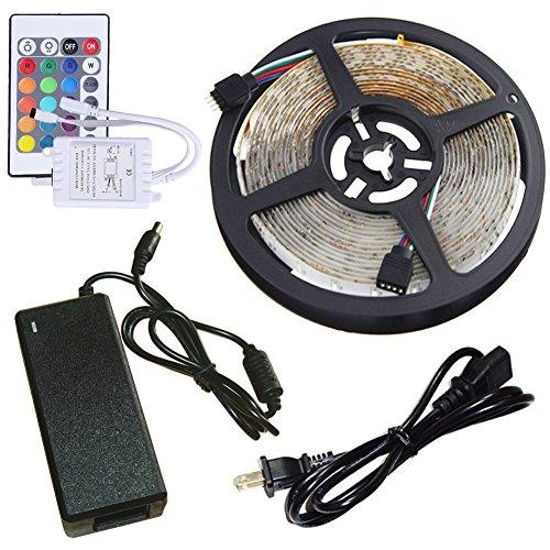 inextstation-led-strip-lighting-kit-strand-of-lights-12v-dc-5m-3528-rgb-smd-flexible-waterproof-300-