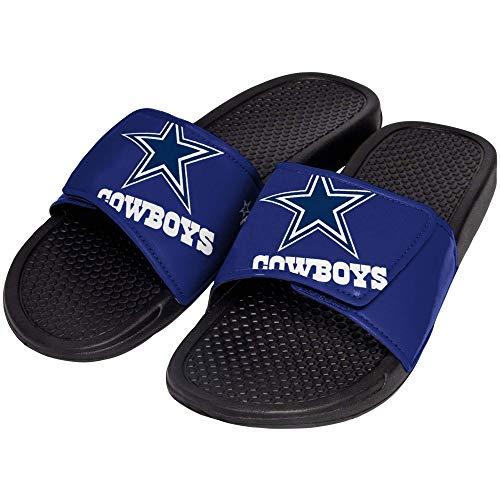 - FOCO NFL Dallas Cowboys Unisex Big Logo Slide-Big Logo Slde, Dallas Cowboys, Extra Large