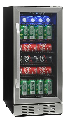 NewAir ABR-960 Compact 96 Can Built In Beverage Cooler