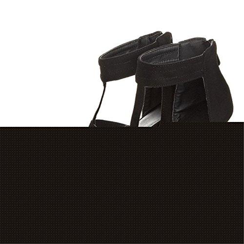 Tacco Delle A Del Sottile Del Alto A Leopardo Di Punta Donna Partito Punta Pompe Kenavinca 2017 Scarpe Nozze 9cm Nero Donne 0qwB1pf