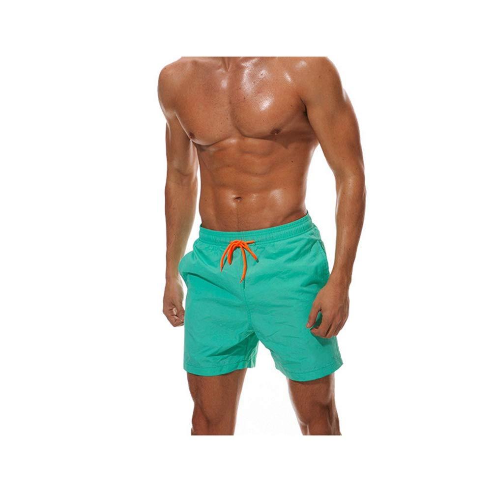 ZYSHI Short Quick Dry Swimwear Men Surf Swimming Beach Short Athletic Swimsuit Shorts