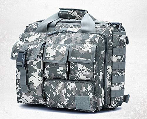 Jaycel-Ginny Multifunctional Outdoor Computer Bag - Oxford Waterproof Tactical Shoulder Bag for Traveling, Camping, Trekking & Hiking,ACUCamo