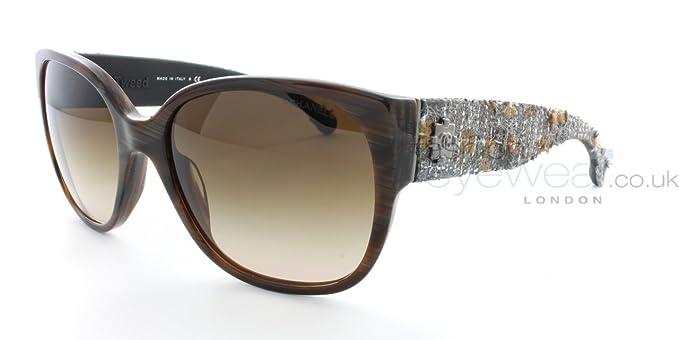 Gafas de Sol Chanel CH5237 STRIPED BROWN/ BROWN GRADIENT ...