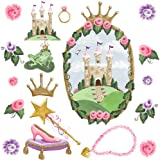Instant Murals by Sherri Blum Peel and Stick Wall Stickers - Castle Window and Accessories (Discontinued by Manufacturer)