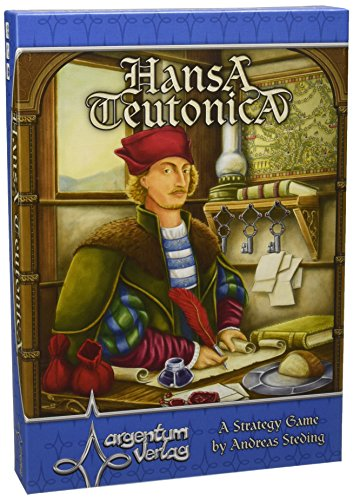Hansa Teutonica Board Game (The Hanseatic League Was A Group Of)