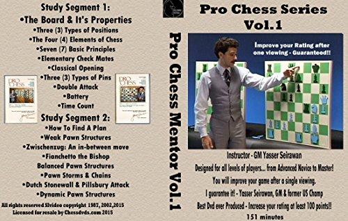 Pro Chess DVD - Vol. 1 Chess DVD