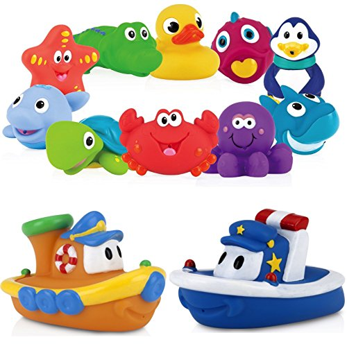 Nuby Squirters Months Floating Boats