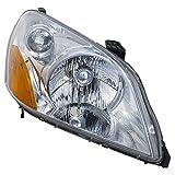 Ka Legend Honda 03-05 Pilot Factory Style Headlight Head Light Lamp Assembly Lh Left Driver Side
