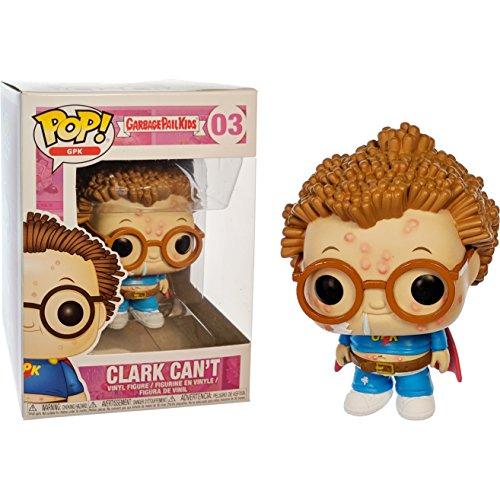 Funko Clark Can't POP! GPK x Garbage Pail Kids Vinyl Figure + 1 Video Games Themed Trading Card Bundle [#003 / 26000] by Funko
