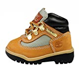 Timberland Leather and Fabric Field Boot (Toddler/Little Kid/Big Kid),Wheat,9 M US Toddler