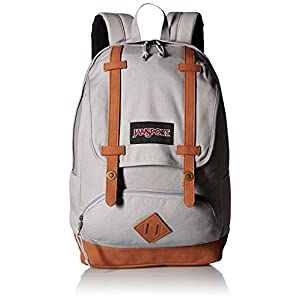 JanSport Baughman 25L Backpack Grey Rabbit Canvas, One Size