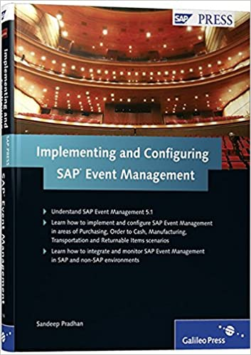 Implementing and configuring sap event management sandeep pradhan implementing and configuring sap event management sandeep pradhan 9781592293162 amazon books fandeluxe Image collections