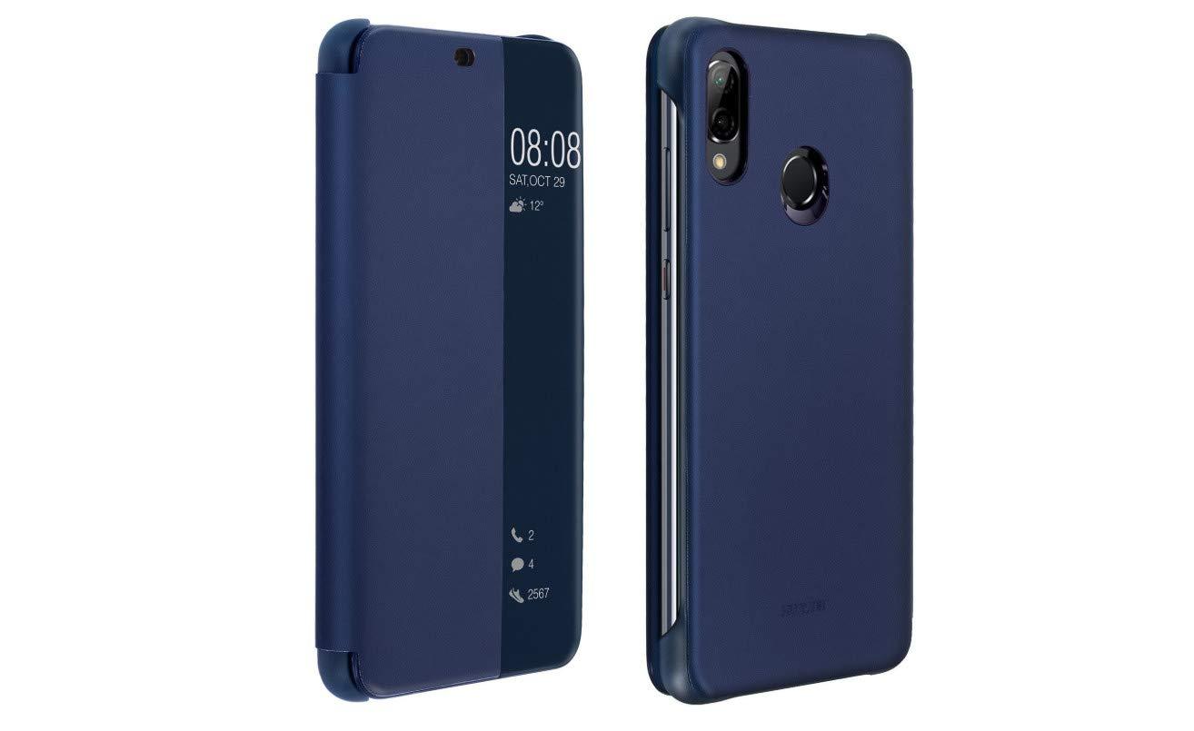 P30 Pro, Noir AURSTORE Smart Cover Housse Etui P30 Pro Folio Cover ECO-Cuir Coque Pochette Etui pour Huawei P30 Pro Couleur Noir Compatible pour Huawei