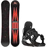 snowboard 155 package - Morrow Truth 155cm Mens Snowboard + Flow Alpha Bindings - Fits US Mens Boots Sized: 8,9,10,11