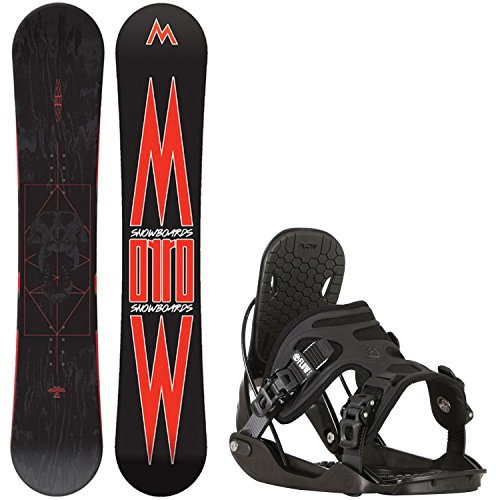 152 cm mens snowboard package - 7
