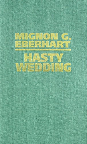 book cover of Hasty Wedding