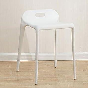 GAOJUAN Sillas de plástico Modernas Minimalistas sillas de ...