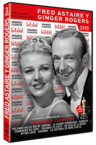 Amazon Com Coleccion Grandes Clasicos Fred Astaire Y Ginger Rogers Non Usa Format Movies Tv