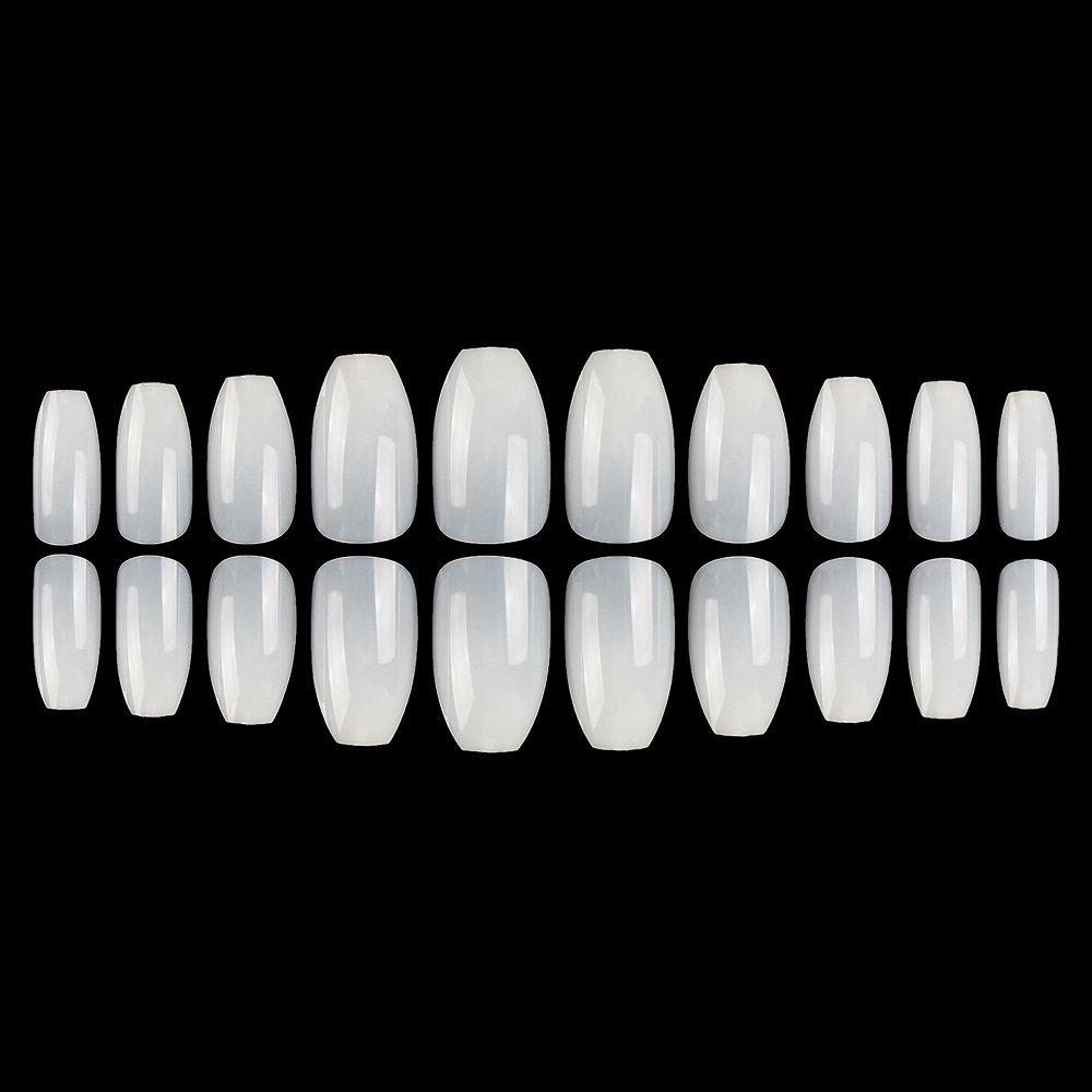Amazon.com: Coffin Nail Tips 600PCS Acrylic Nails BTArtbox Long Full ...
